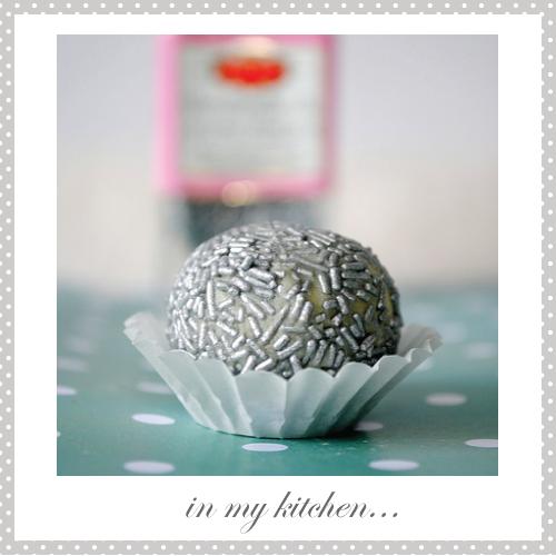 White chocolate truffles by Torie Jayne