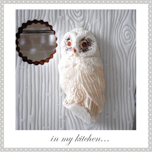 Petal paste owl by Torie Jayne