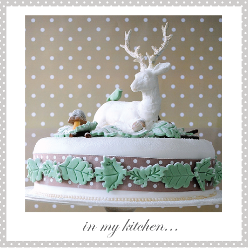 My Winter Woodland Christmas cake by Torie Jayne