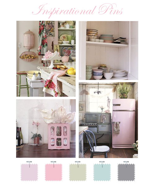 Vintage Kitchen by Torie Jayne