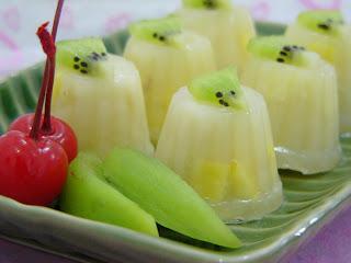 Puding Durian Kiwi