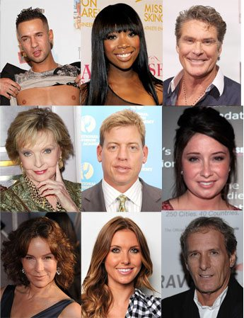 the 2011 dancing with the stars cast was just announced and they may