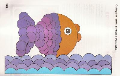 ARTES1 Arte : Recorte e colagem com figuras geométricas. para crianças