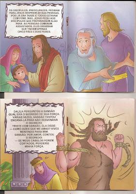 historias+b%C3%ADblicas+(2)+4 Histórias Bíblicas Multiplicação dos pães Sansão e Dalila. para crianças