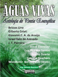 ÁGUAS VIVAS - Antologia reunindo poemas de 10 autores evangélicos contemporâneos.