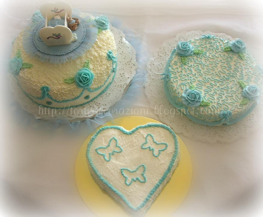 Torte e decorazioni torte battesimo bimbo - Decorazioni battesimo bimbo ...