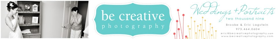 Be Creative Photography - Wedding and Portrait Photography by Brooke and Eric Lagstein