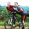 Biking în zona Sălciua