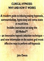 Clinical Hypnosis Demystified - Includes detailed JOIMETHOD Induction for therapists