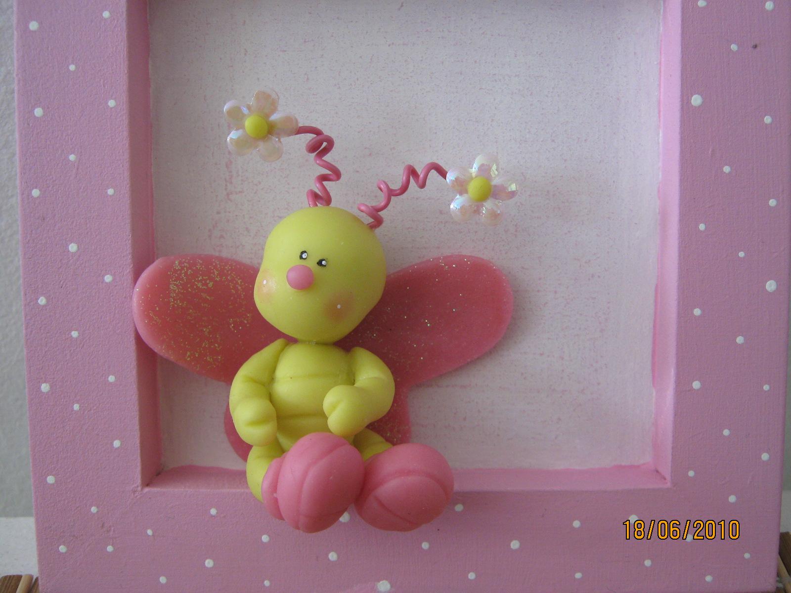 porcelanafria: cuadro mariposa