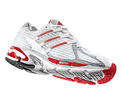 Men's Supernova Cushion Red & White