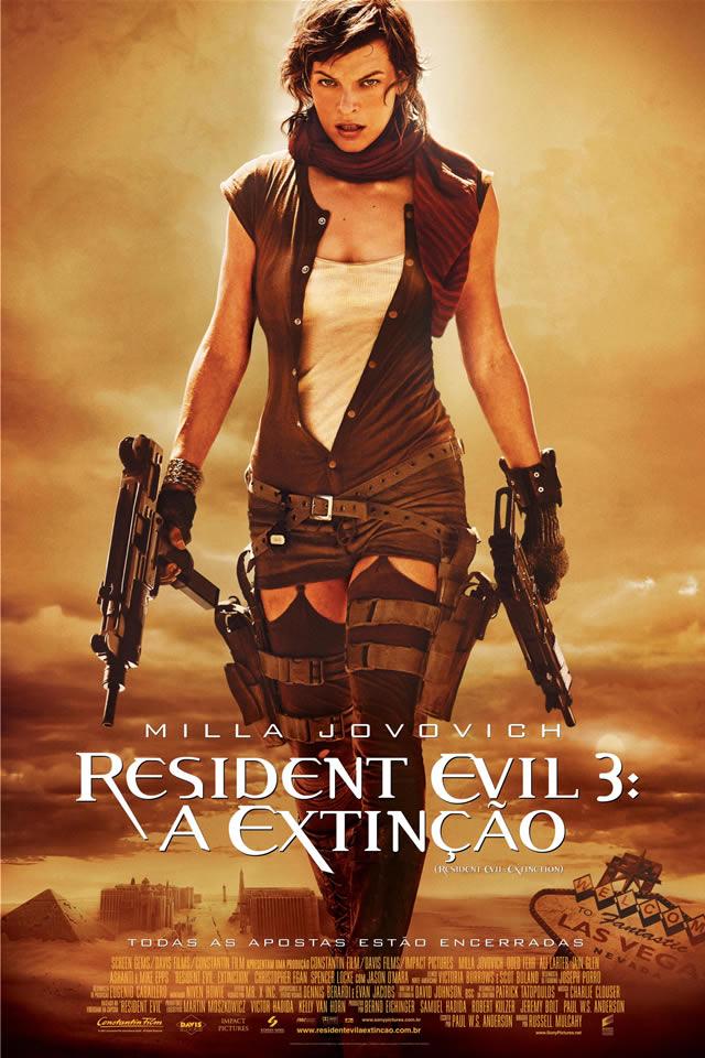 Resident Evil 3: Extinção – Dublado – Filme Online