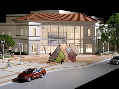 Artwork proposed for Pasadena Center, plaza west side