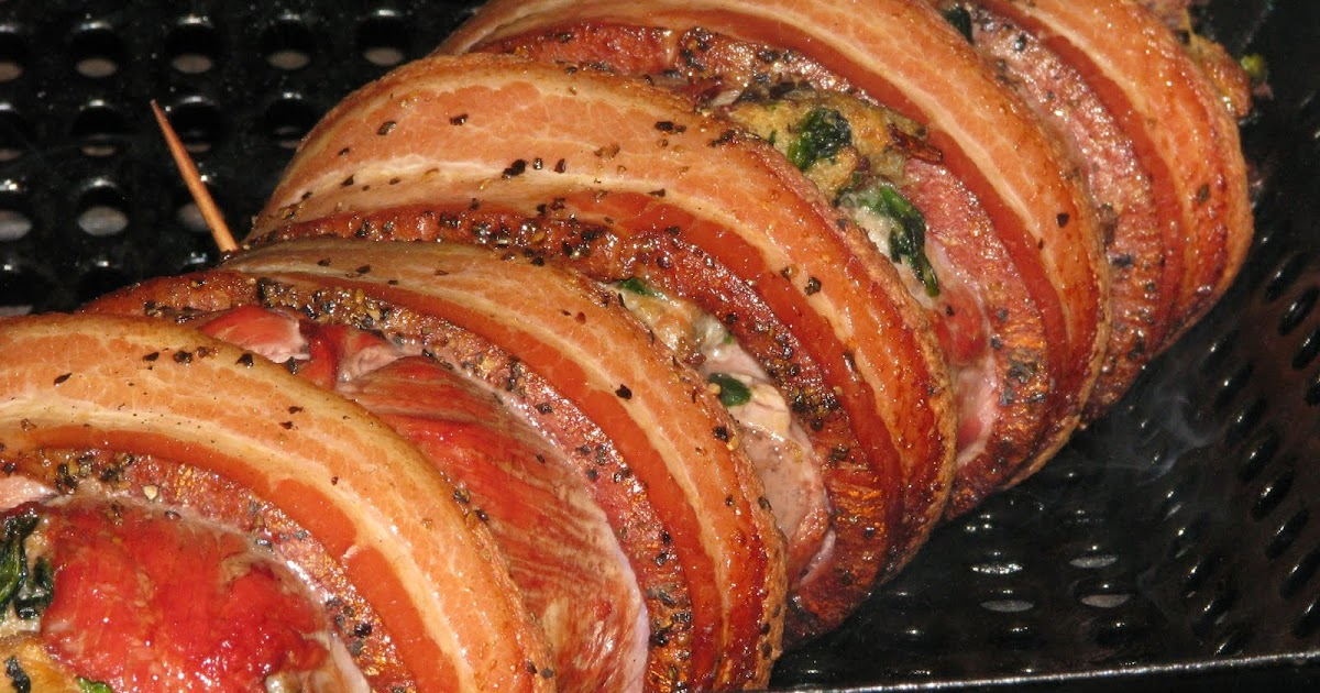 MAD MEAT GENIUS: BACON WRAPPED MEAT LOG