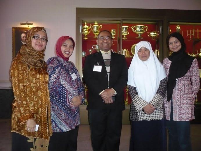 Bersama British Council di Inggris
