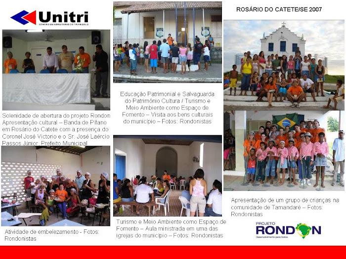Projeto Rondon - Lição de Cidadania