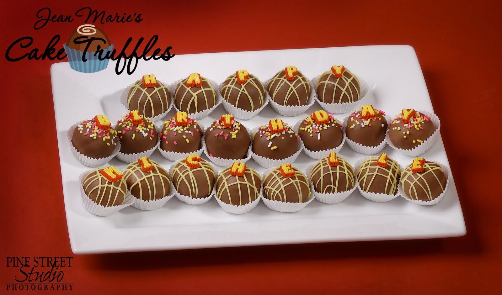 Jean Maries Cakery Happy Birthday Cake Truffles