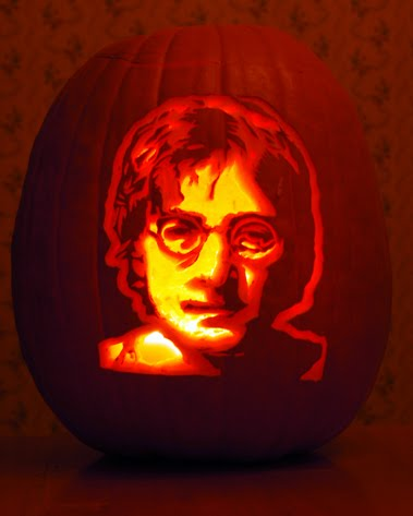 lennon pumpkin Cool Halloween Pumpkin Jack O Lanterns Designs Pictures Seen on www.VyperLook.com