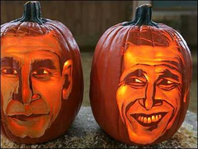 obama pumpkin Cool Halloween Pumpkin Jack O Lanterns Designs Pictures Seen on www.VyperLook.com