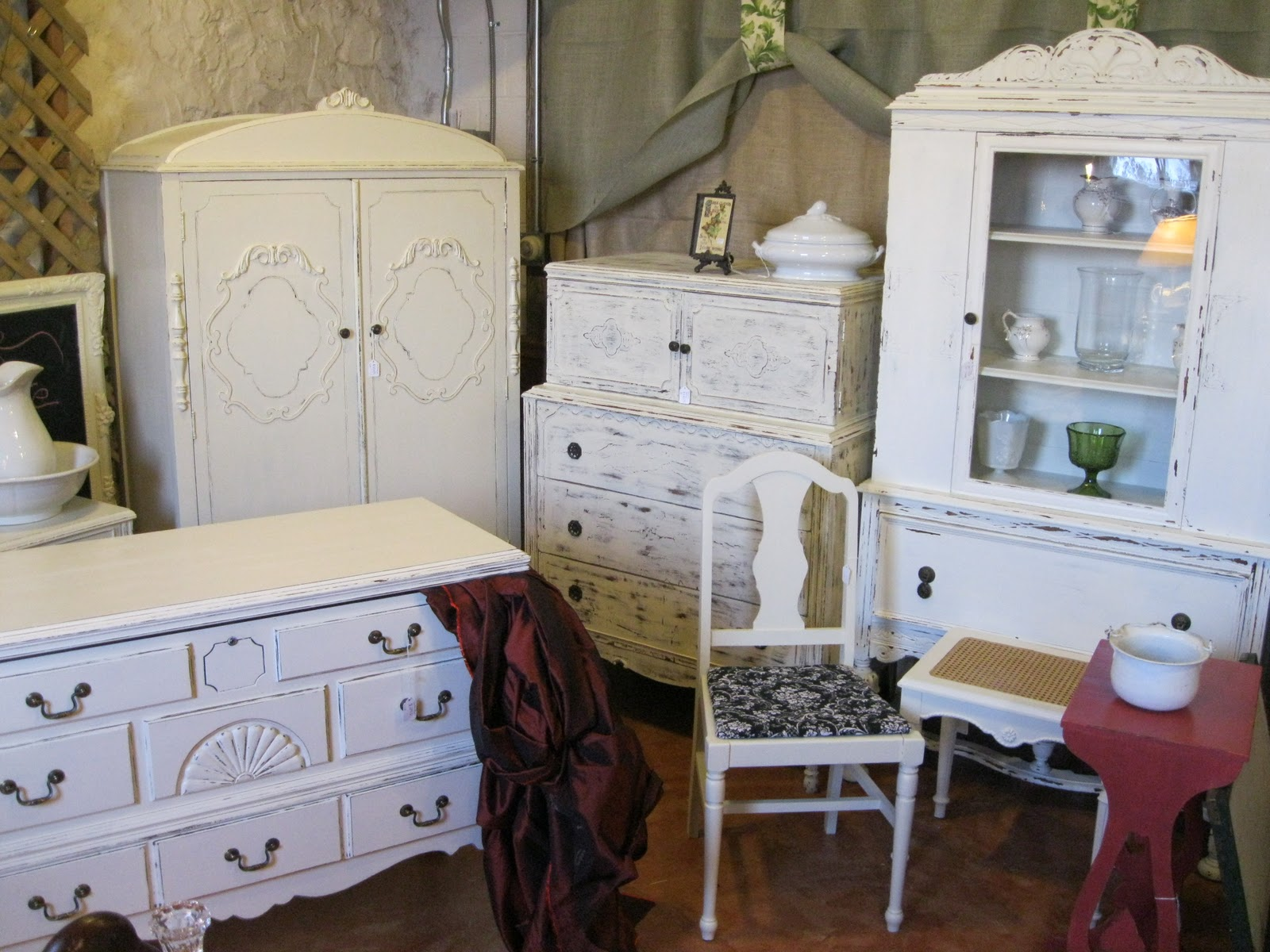 Up Cycle Cottage Green: Look for Vintage Furniture by ...