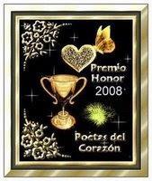 2 Premios Poetas del Corazón