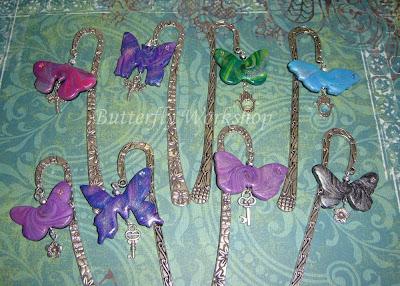 segnalibri farfalle