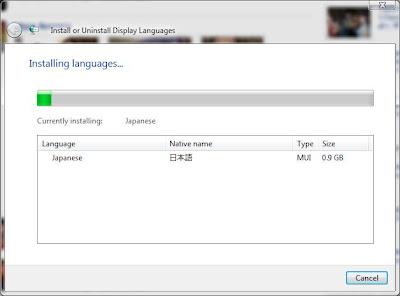 cambiar de idioma en windows vista