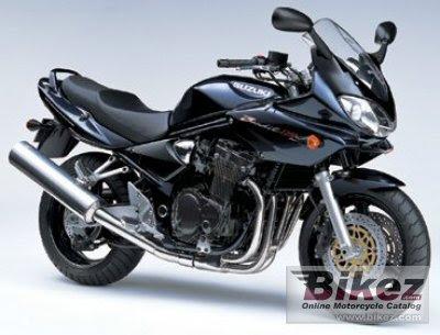 Suzuki Bandit 1200 Black Bodykit