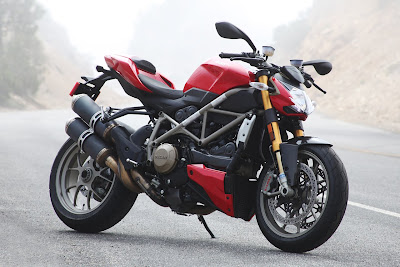 Ducati Monster Red Street Fighter