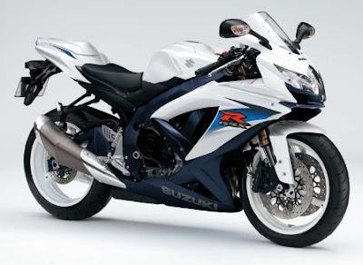 New Suzuki GSX-R 600 White Sport Edition 2010