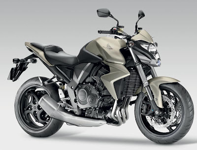 New Honda Silver Naked Bike Edition 2010