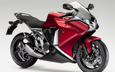 New Honda VFR Red Super Sport 2010