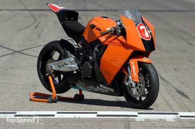 New KTM RC8 Orange Superbike 2010