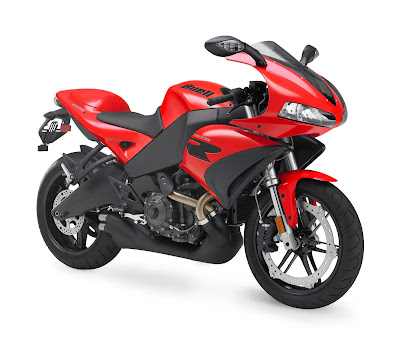 New Buell 1125 R Red Sport Bike 2010-1