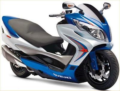 Suzuki Burgman 400 Blue Super Sport 2010