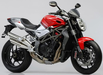 New MV Agusta Brutale 1090RR Red Sportbike 2010 1