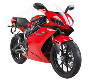 Minerva Megelli 125 R Red Sport Bike 1