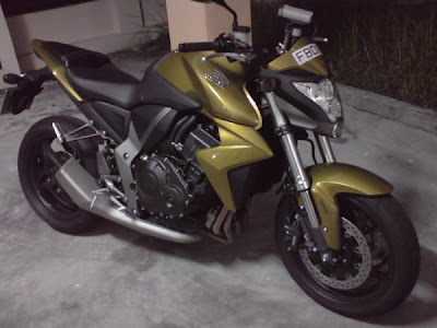 Honda CB1000 Green Sport Fighter 2009