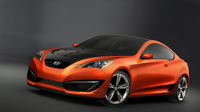 Hyundai Genesis Coupe 850 Orange Sports 1