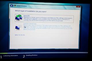 Driver software installation for windows vista