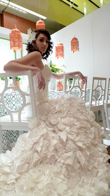 One of the 4 Wedding University Models (by The Flirty Blog)