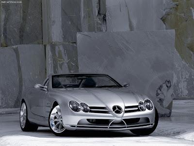 2004 Mercedes Benz Grand Sports Tourer Vision R Concept. 1999 Mercedes-Benz Vision SLR