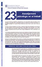 Informació sobre l'assetjament psicològic del departament de Treball de la Generalitat.