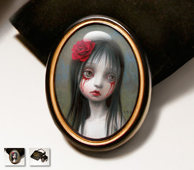 A pretty nice Mark Ryden item is being released by Porterhouse.