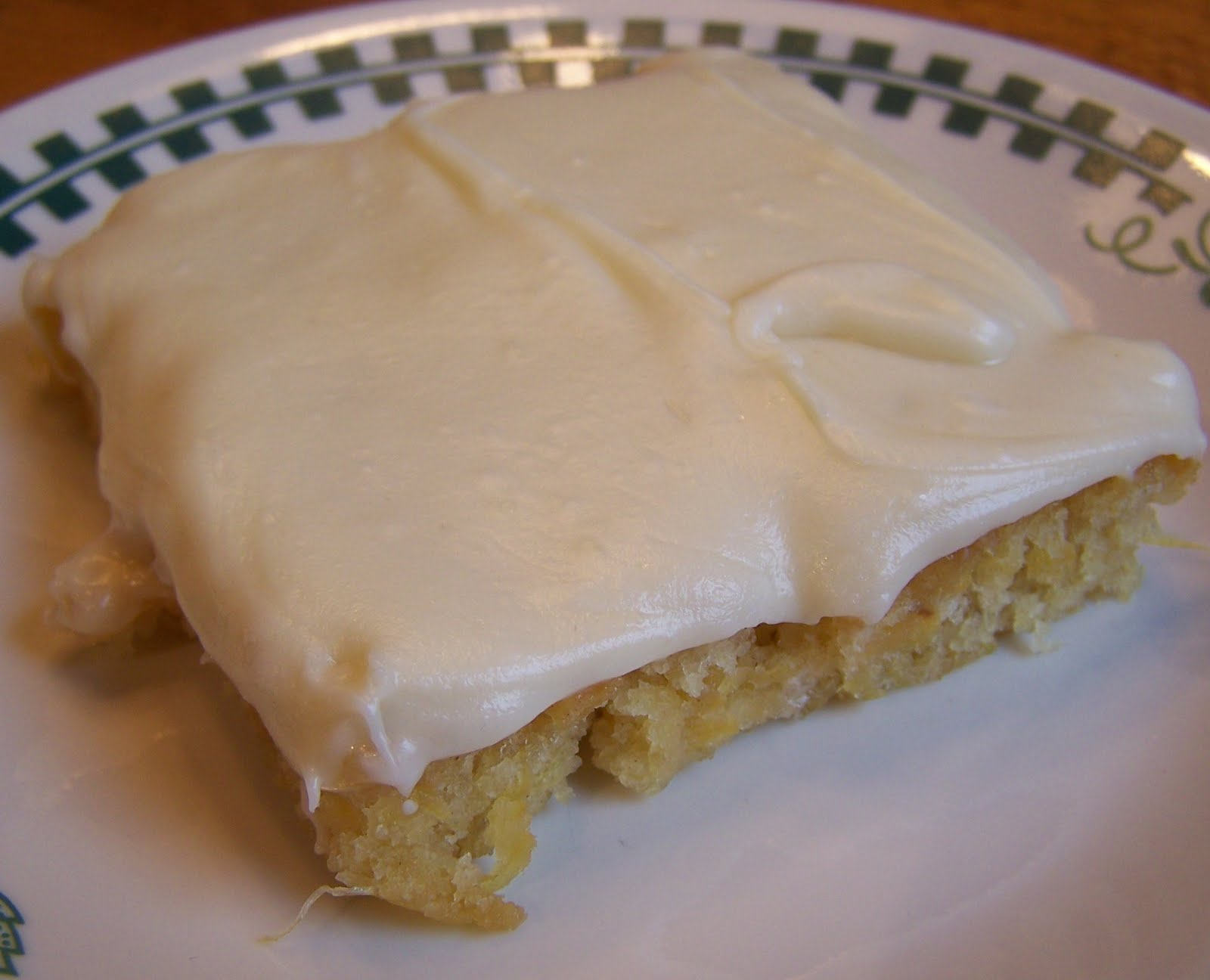 ... -and-True cooking with Heidi: Pineapple Cake with Cream Cheese Icing