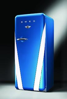 Edição especial SMEG Mini Cooper, simples e com estilo.