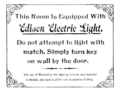 luz electrica edison