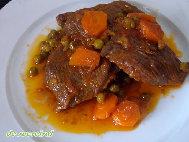 Ternera en salsa cocinar en casa es - Cocinar rabo de ternera ...
