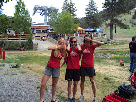 Team Montrail goofing!