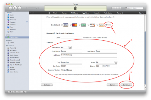 how to add itunes gift card to account on iphone